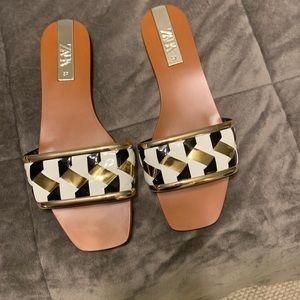 Zara slide sandal